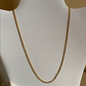 """10K YELLOW GOLD NECKLACE, CHAIN, SIZE 18"""""""